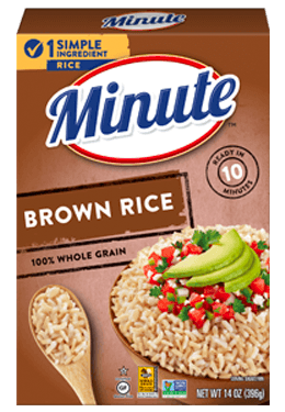 Instant Whole Grain Brown Rice Minute