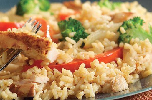 20-Minute-Chicken-and-Rice-Stir-Fry