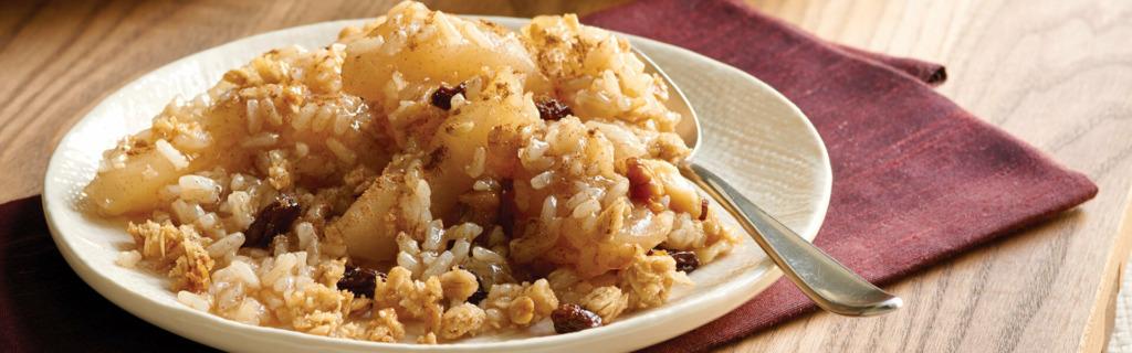 Apple Cinnamon Rice Crisp