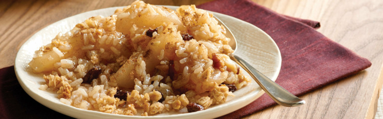 Apple Cinnamon Rice Crisp