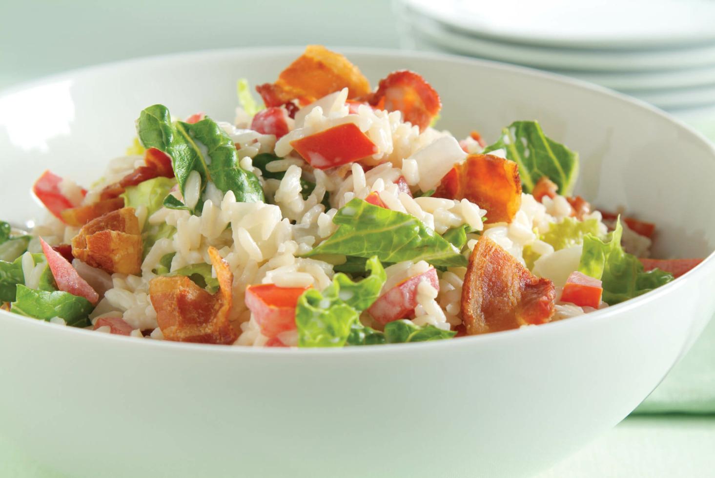 BLT Rice Salad