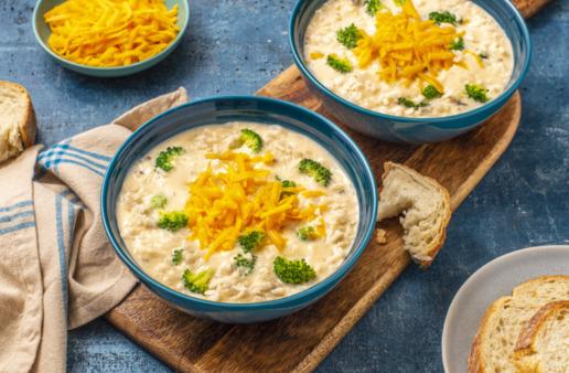 broccoli-and-cheddar-cheese-rice-soup