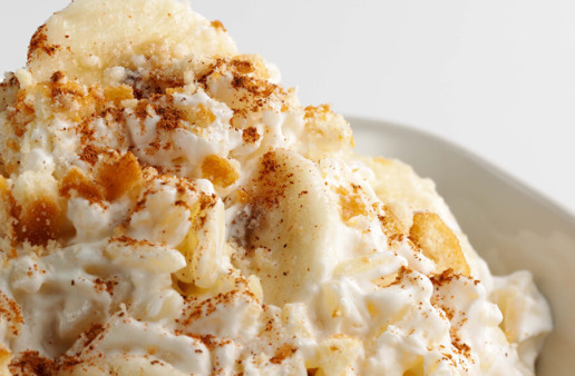 Banana Rice Pudding