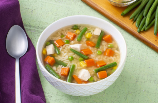 Country-chicken-and-rice-soup