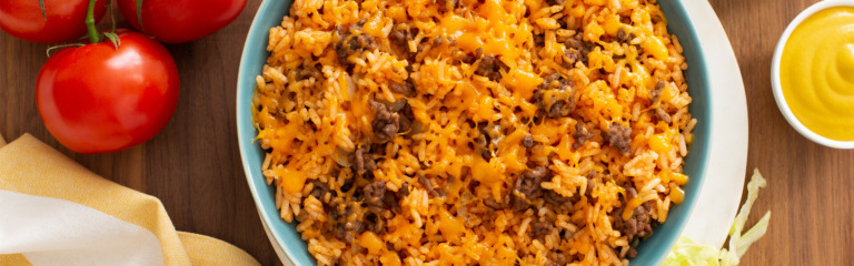 Cheeseburger Rice