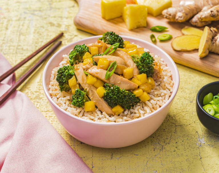 Chicken, Broccoli and Pineapple Stir-Fry