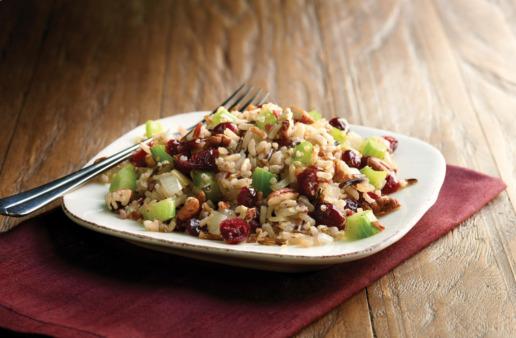 Cranberry Pecan Rice and Quinoa Stuffing