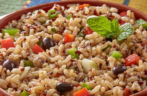 Cuban Mojito Quinoa Salad