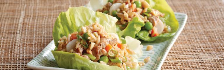Far East Lettuce Wraps