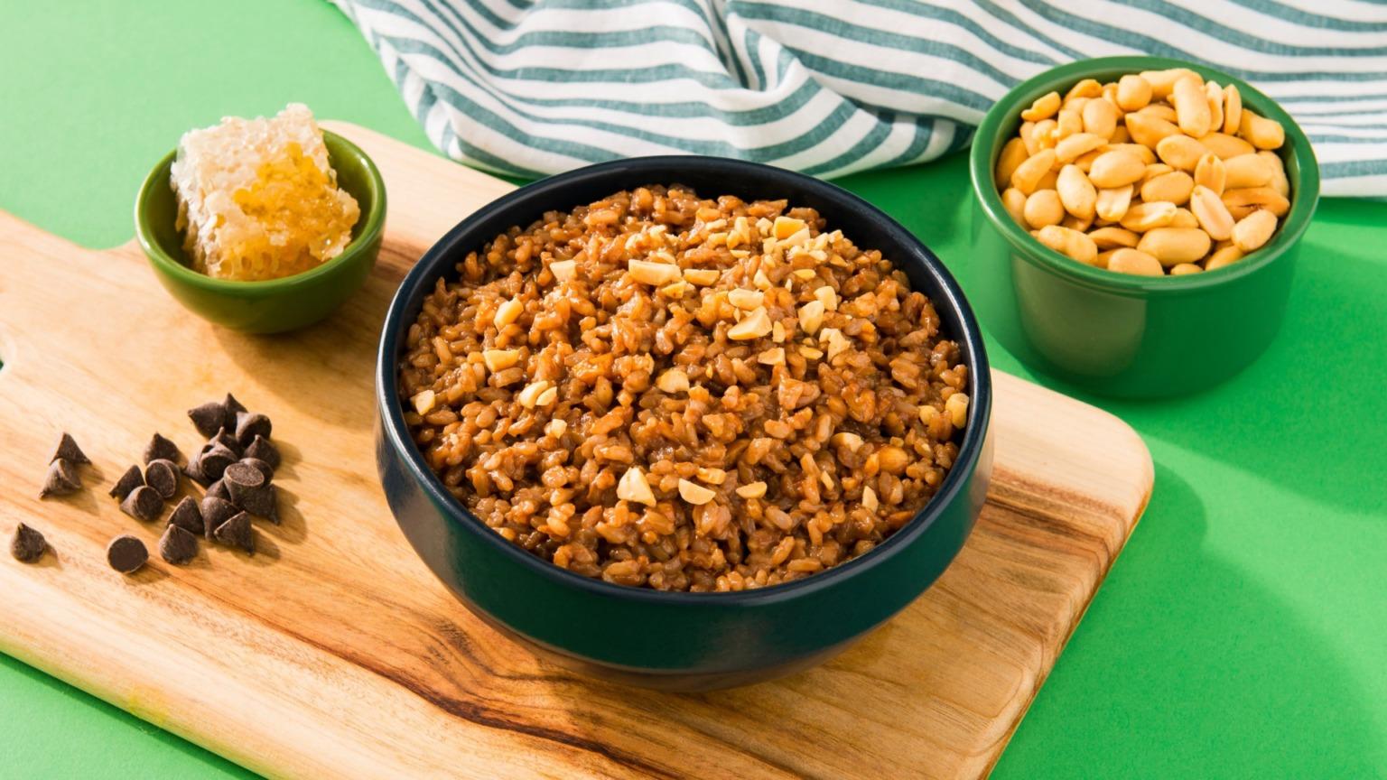 Nutty Buddy Honey Rice