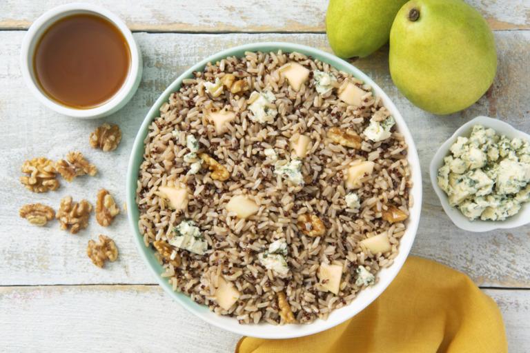 Pear and Walnut Salad with Quinoa