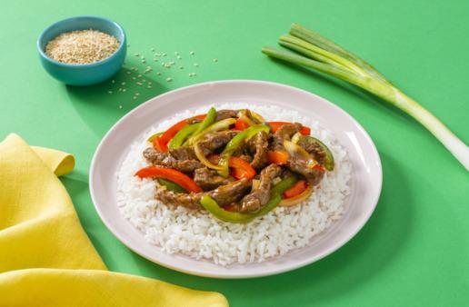 pepper-steak-served-over-white-rice