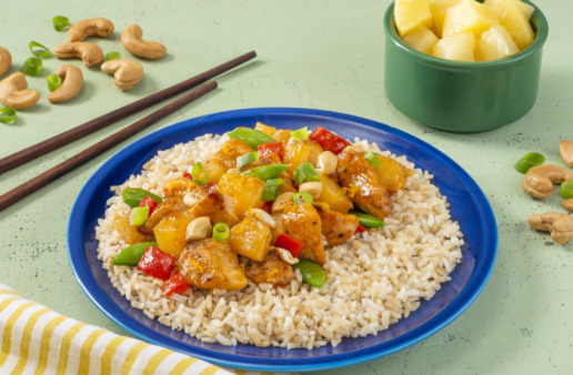 Pineapple-Orange-Chicken-with-Brown-Rice