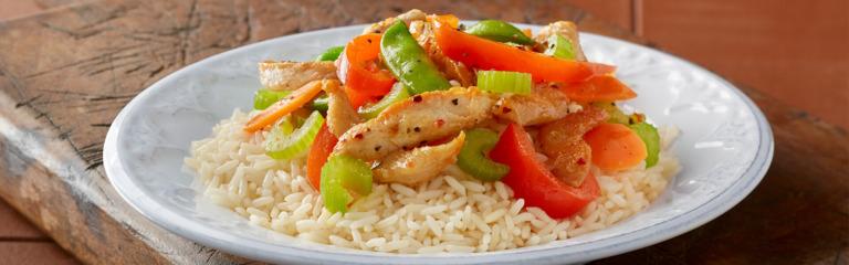Quick Italian Chicken and Rice