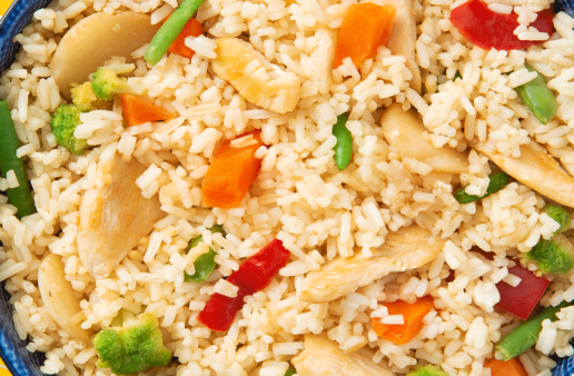 Quick Chicken Stir Fry with vegetables