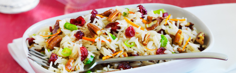 Rice and Cranberry Pilaf