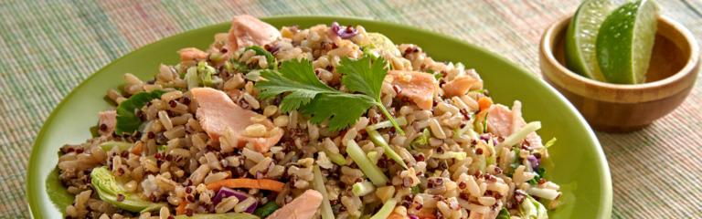 Sesame Ginger Salmon Salad