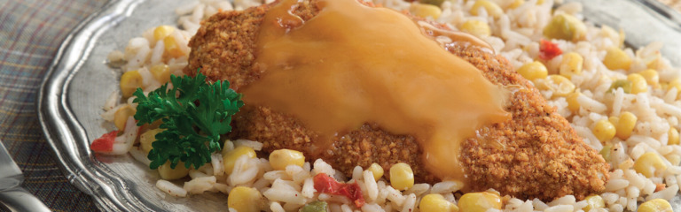 Southwest Chicken with Corn and Rice