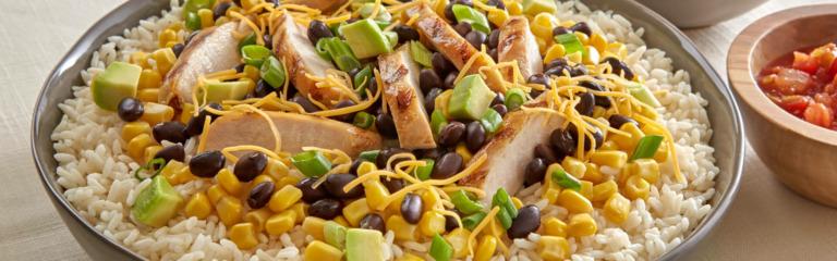 Southwest Style Chicken Bowl