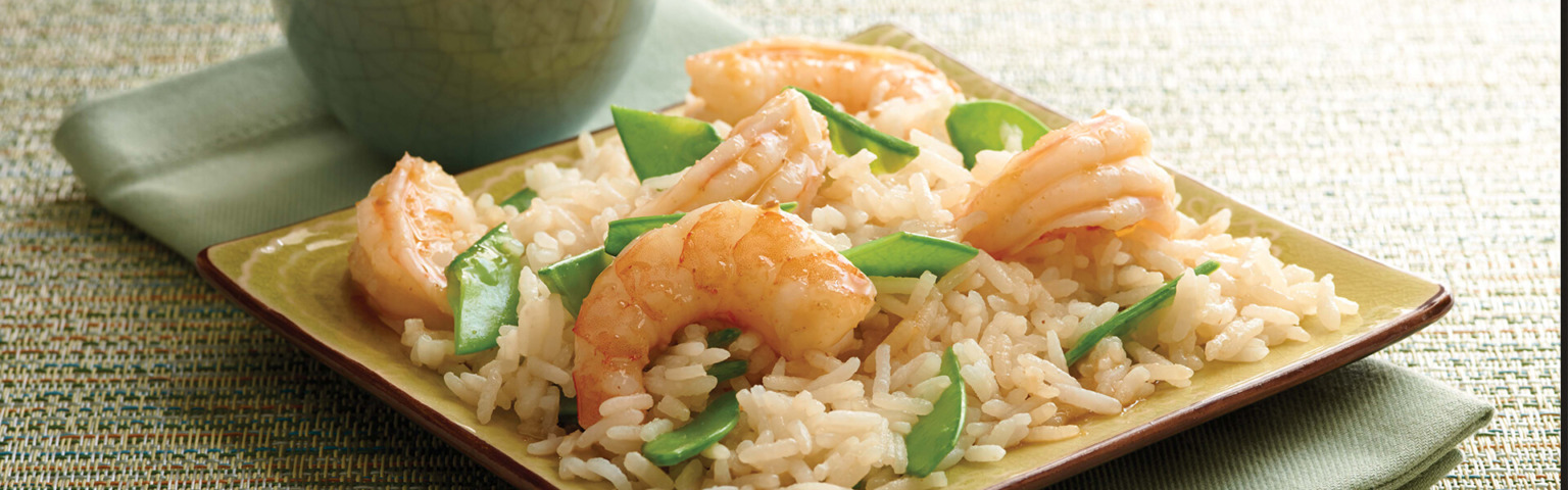 Asian Shrimp Salad with Jasmine Rice