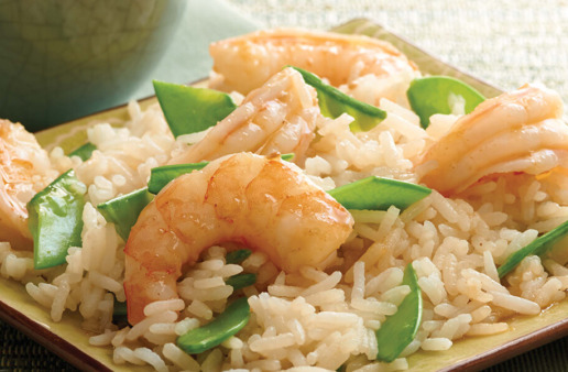 Asian-Shrimp-rice-Salad-with-jasmine-rice