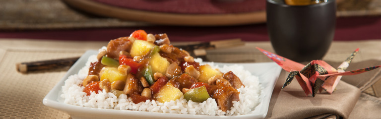 Cashew Sweet and Sour Chicken
