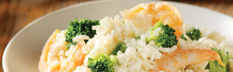 Cheesy Shrimp and Rice