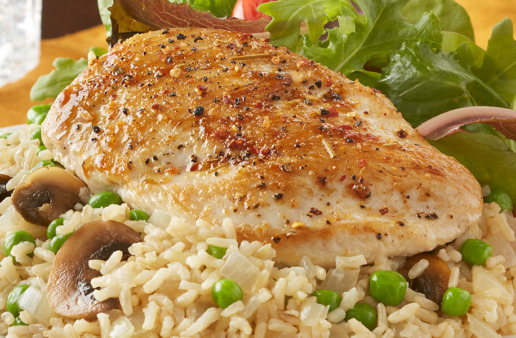 Chicken and Brown Rice Pilaf