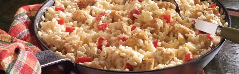 Chicken Parmesan Risotto