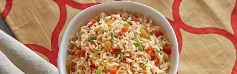 Coconut Curry Mango Rice