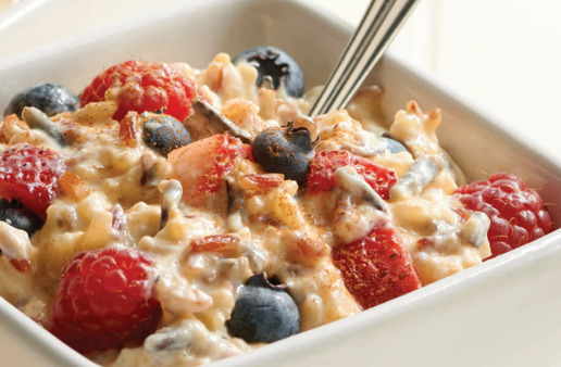 Four Grain Berries and Yogurt