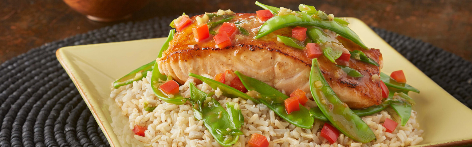 Ginger Seared Salmon