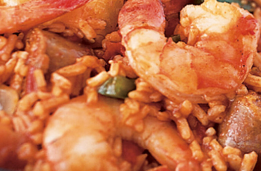 Jambalaya Skillet with Brown Rice