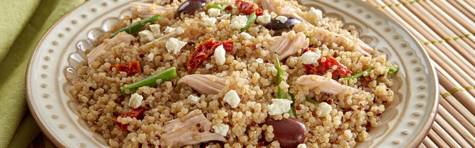 Mediterranean Chicken & Quinoa Delight