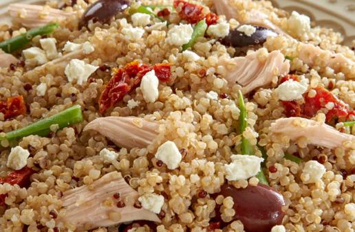 Mediterranean Quinoa Delight Salad