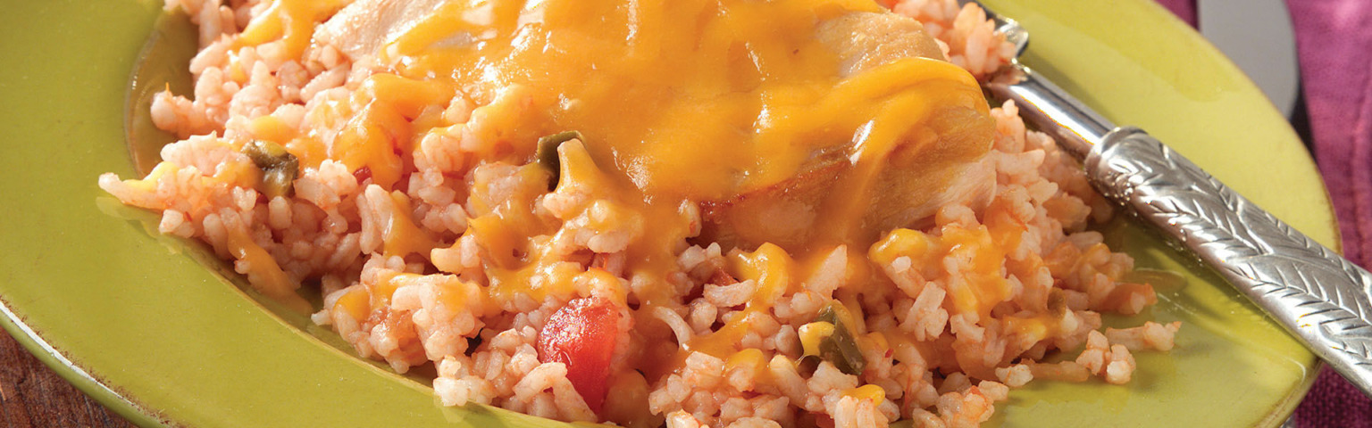 Mexican Chicken and Rice Dinner