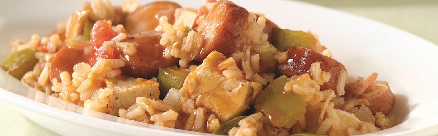 Quick Chicken Jambalaya