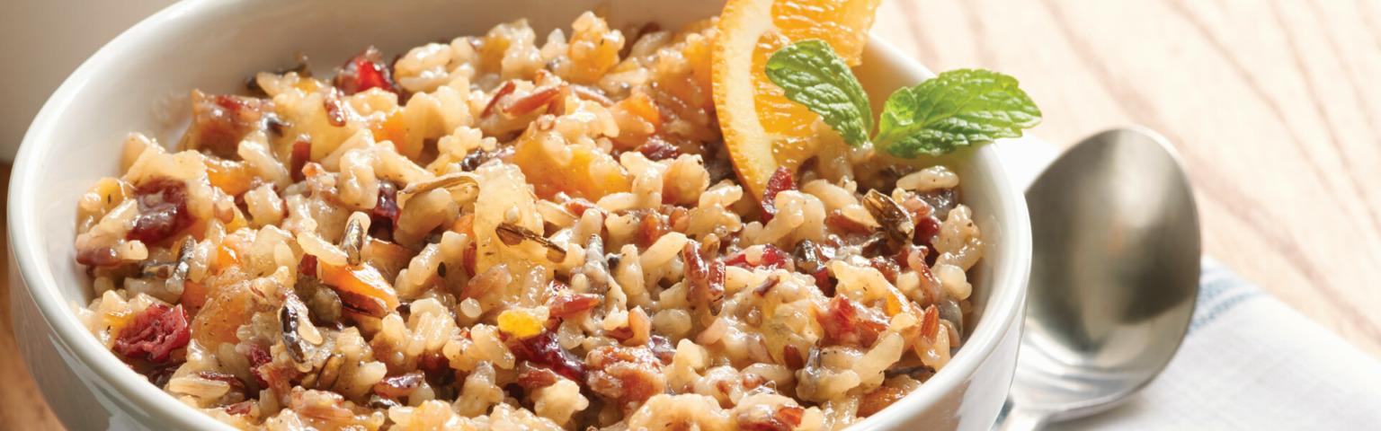 Rice and Quinoa Breakfast Medley