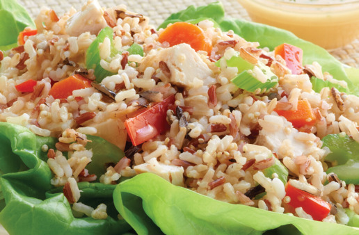 Rice and Quinoa Crunch Salad