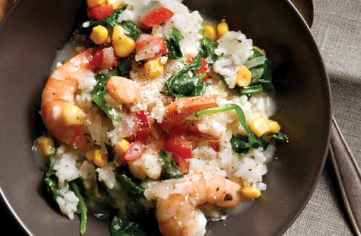 Shrimp and Corn Risotto