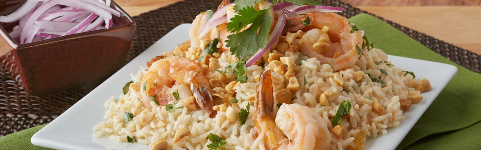 Shrimp Chutney with Basmati Rice