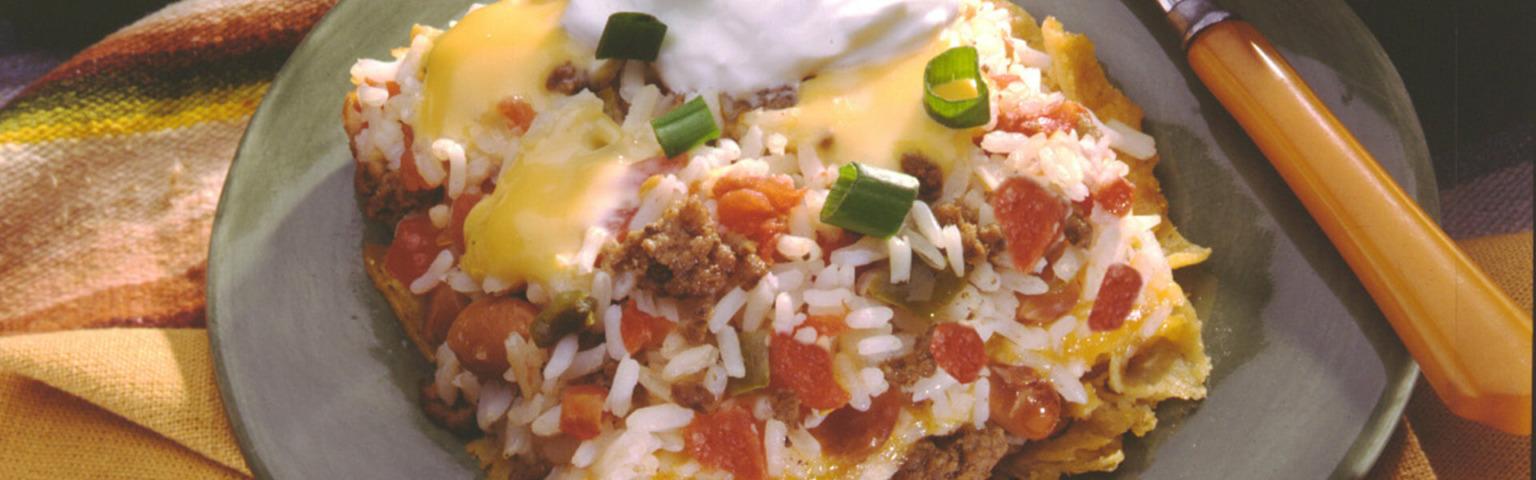 Tex-Mex Rice Bake