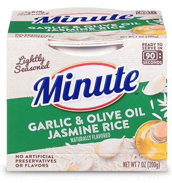 Minute® Ready to Serve Garlic & Olive Oil Jasmine Rice