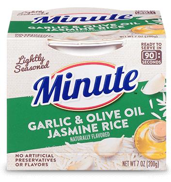 Ready to Serve Garlic & Olive Oil Jasmine Rice
