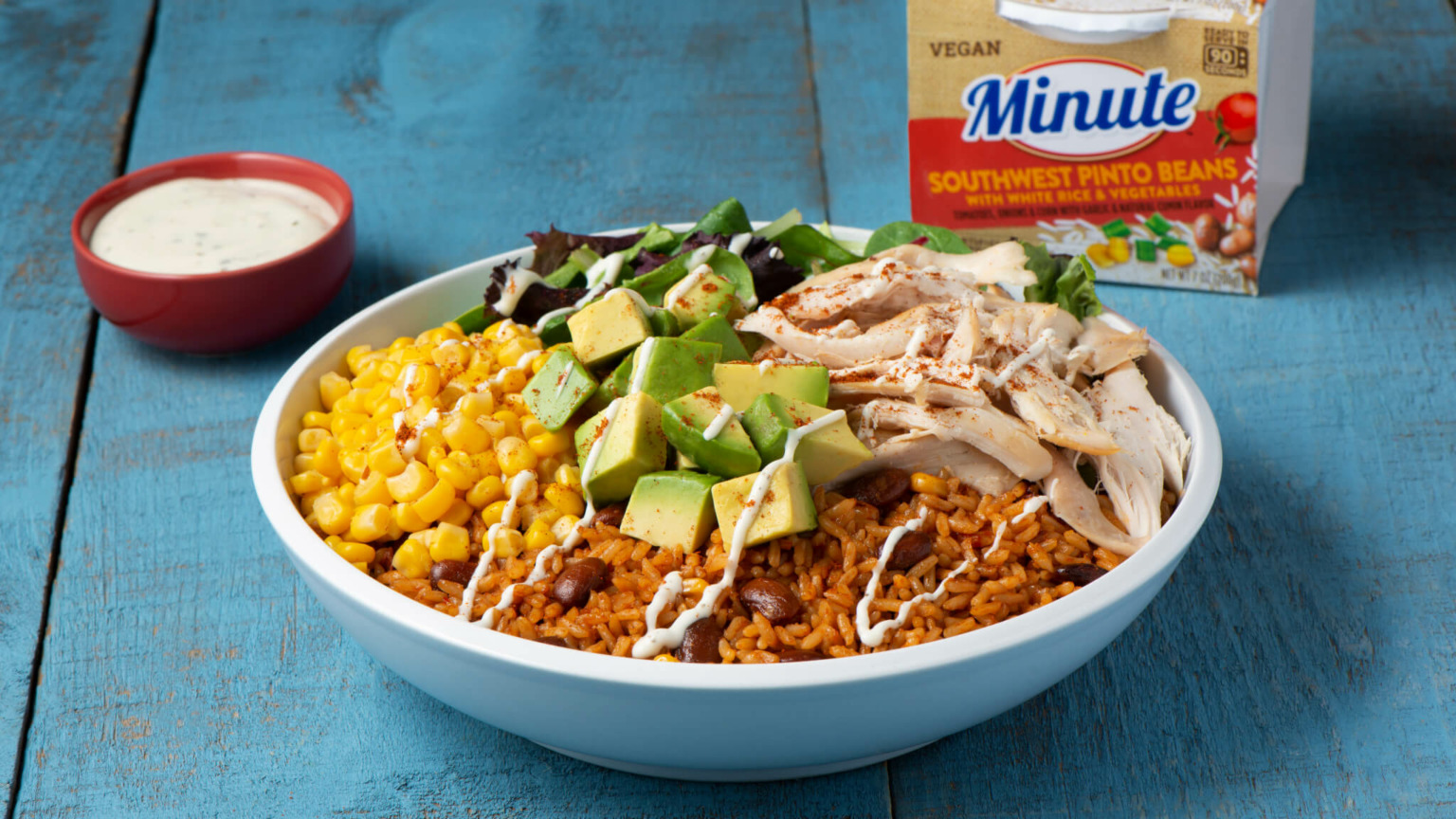 BBQ Chicken and Rice Bowl
