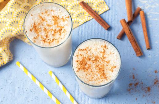 Rice Banana Horchata Shake