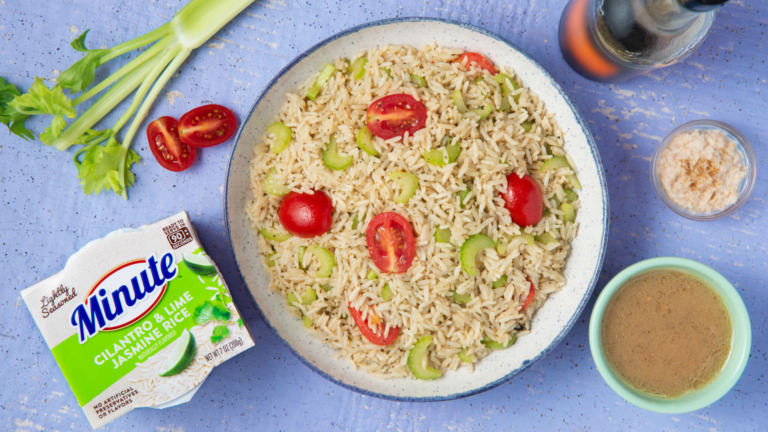 Bloody Mary Rice Salad