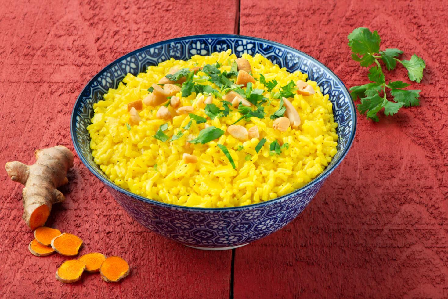 Spiced Curry Coconut Rice