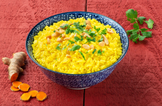 Spiced Curry Coconut Rice