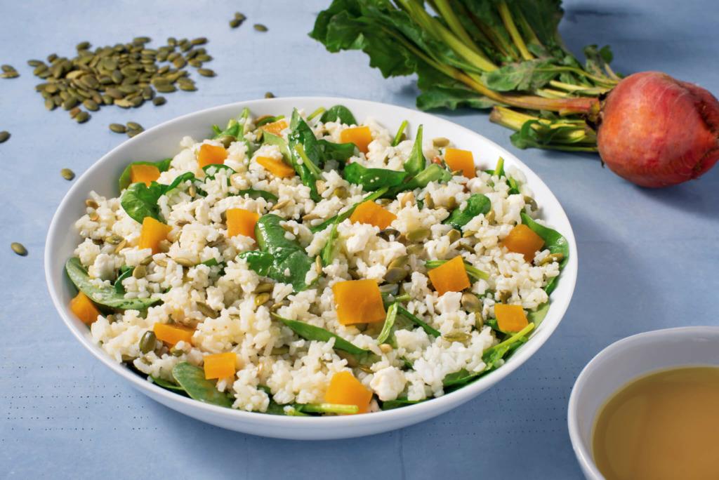 Roasted Beet and Rice Salad